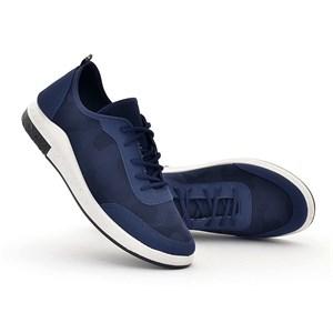 Giày thể thao nam vải thoáng khí MLT - Màu xanh