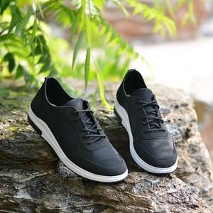 Giày thể thao nam vải thoáng khí MLT - Màu đen