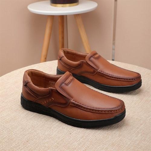 Giày da nam chính hãng BAYEKS - Màu nâu