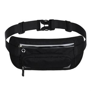 Đai túi đeo thắt lưng chạy bộ thể thao đa năng GLT SPORT - Màu đen