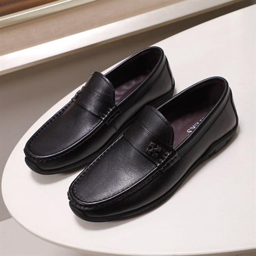 Giày lười nam da bò cao cấp BEK