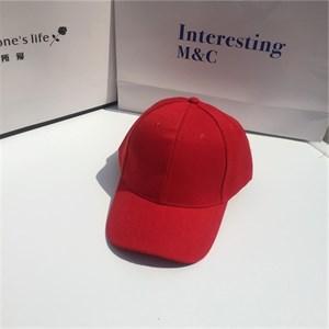 Mũ lưỡi trai Unisex du lịch - Màu đỏ