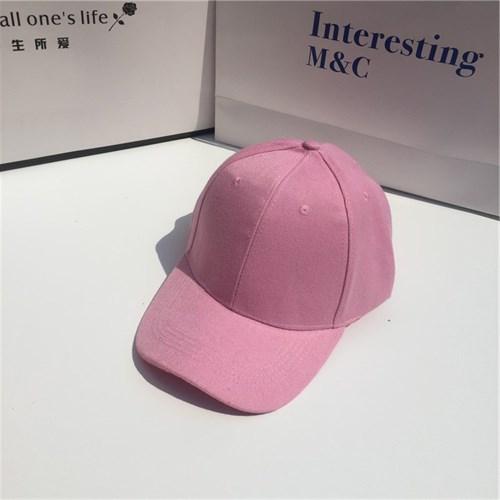 Mũ lưỡi trai Unisex du lịch - Màu hồng