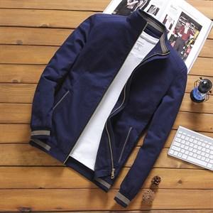Áo khoác nam kaki PNG - Màu xanh