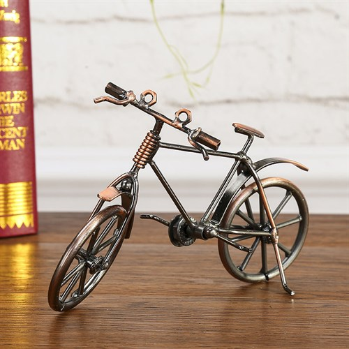 Mô hình xe đạp bằng kim loại