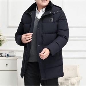 Áo khoác nam mùa đông cotton dày nhung BHG - Xanh