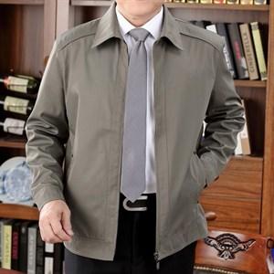 Áo khoác nam trung niên Tourez - Màu Kaki