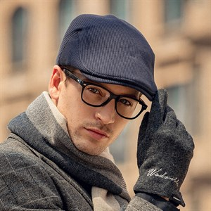 Mũ beret nam WODONBLE - Màu xanh