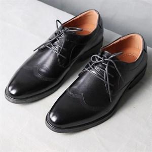 Giày da nam phong cách cổ điển HLA