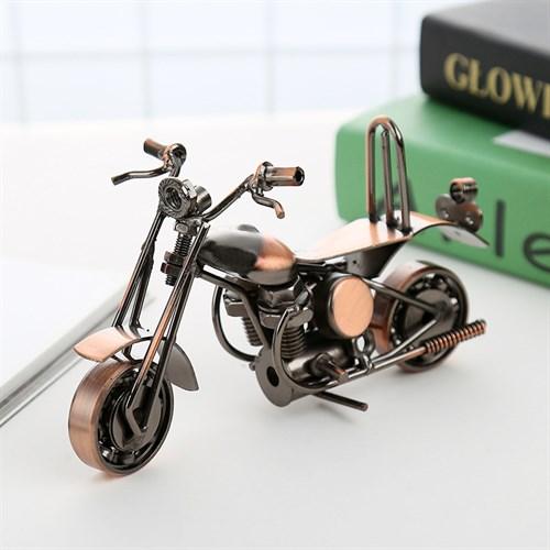 Mô hình xe mô tô Harley bằng kim loại